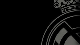 Real Madrid Logo Black And White Wallpaper 5