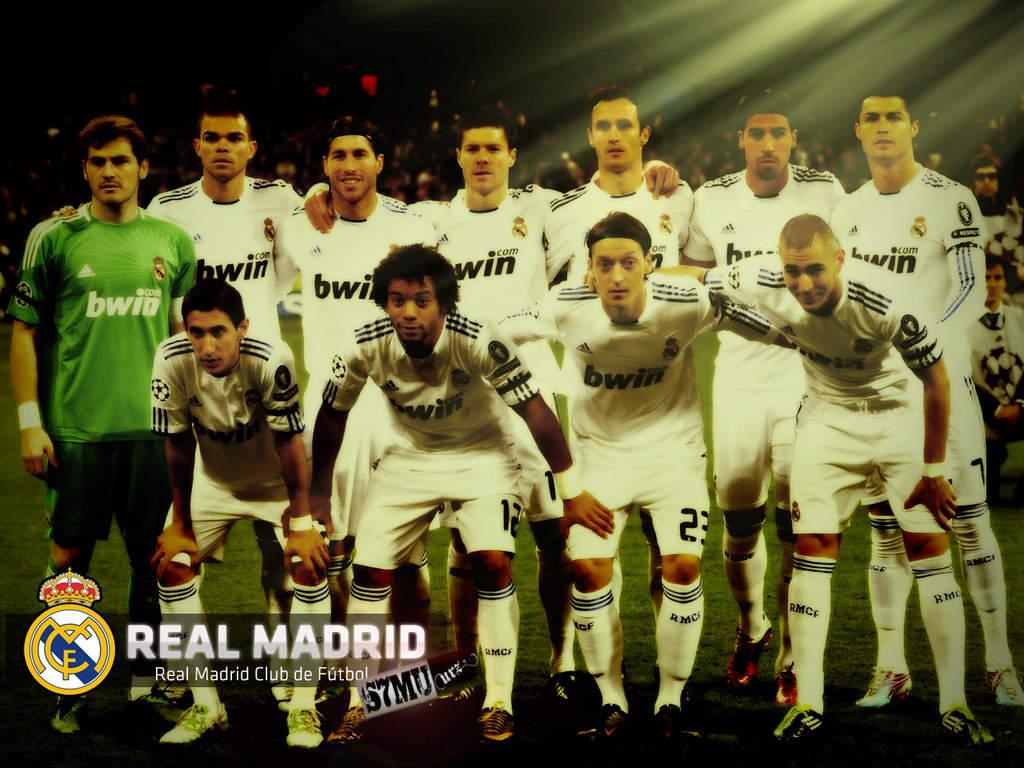 football wallpaper real madrid team | wallpaper gallery