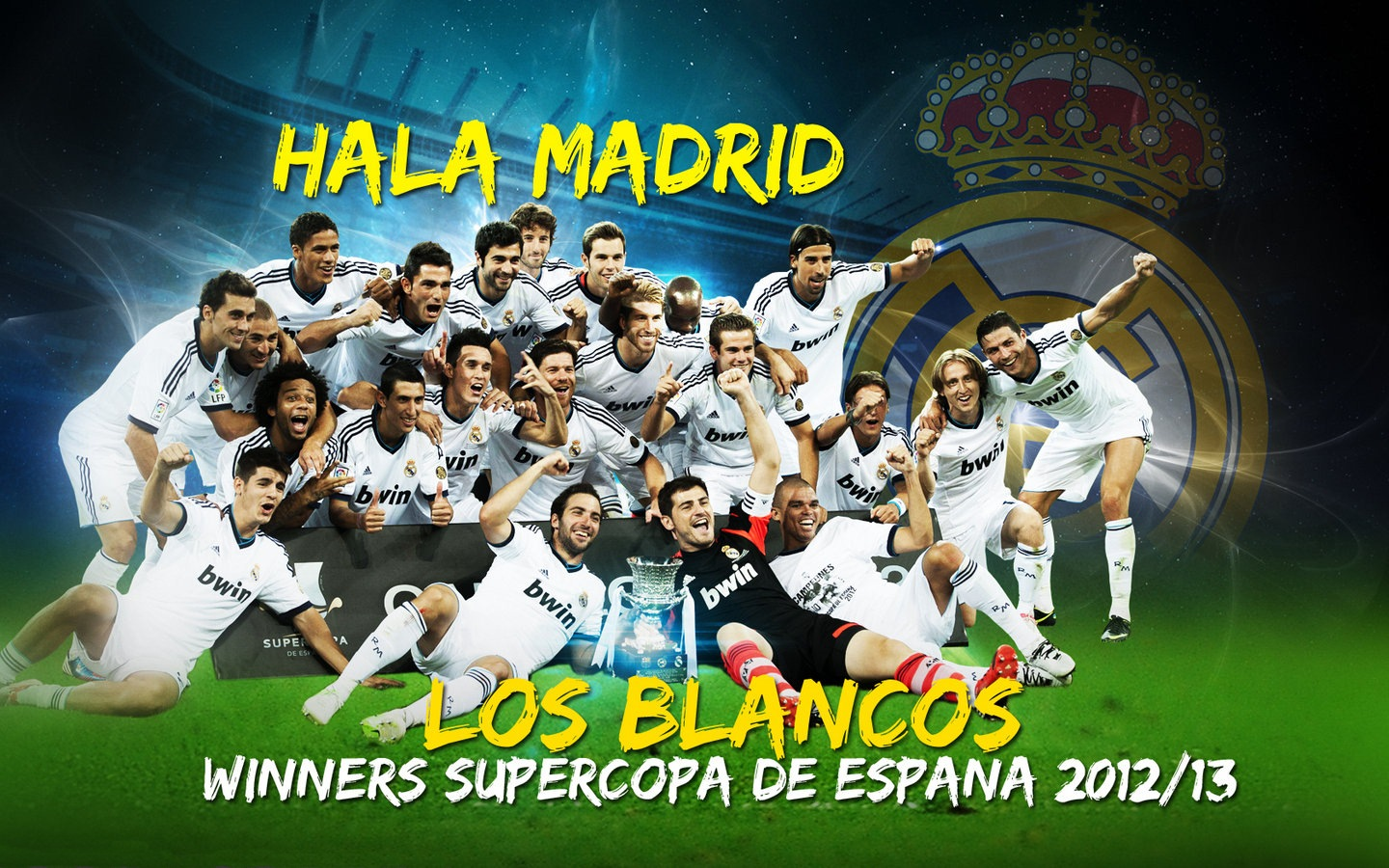 Real Madrid Team Wallpaper 2013 6