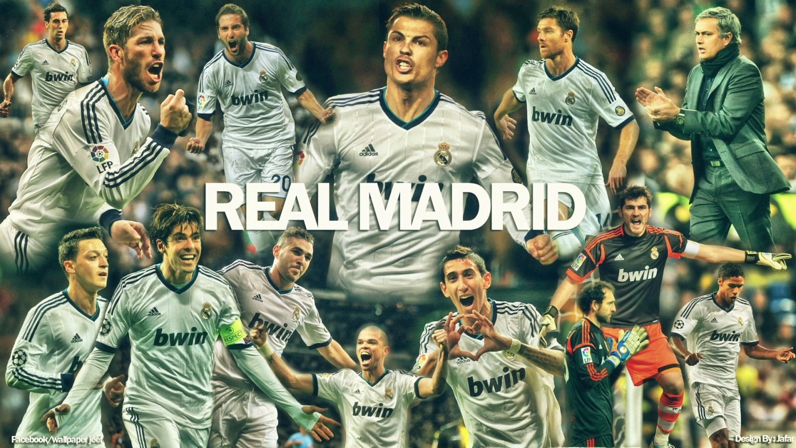Real Madrid Squad Wallpaper Hd