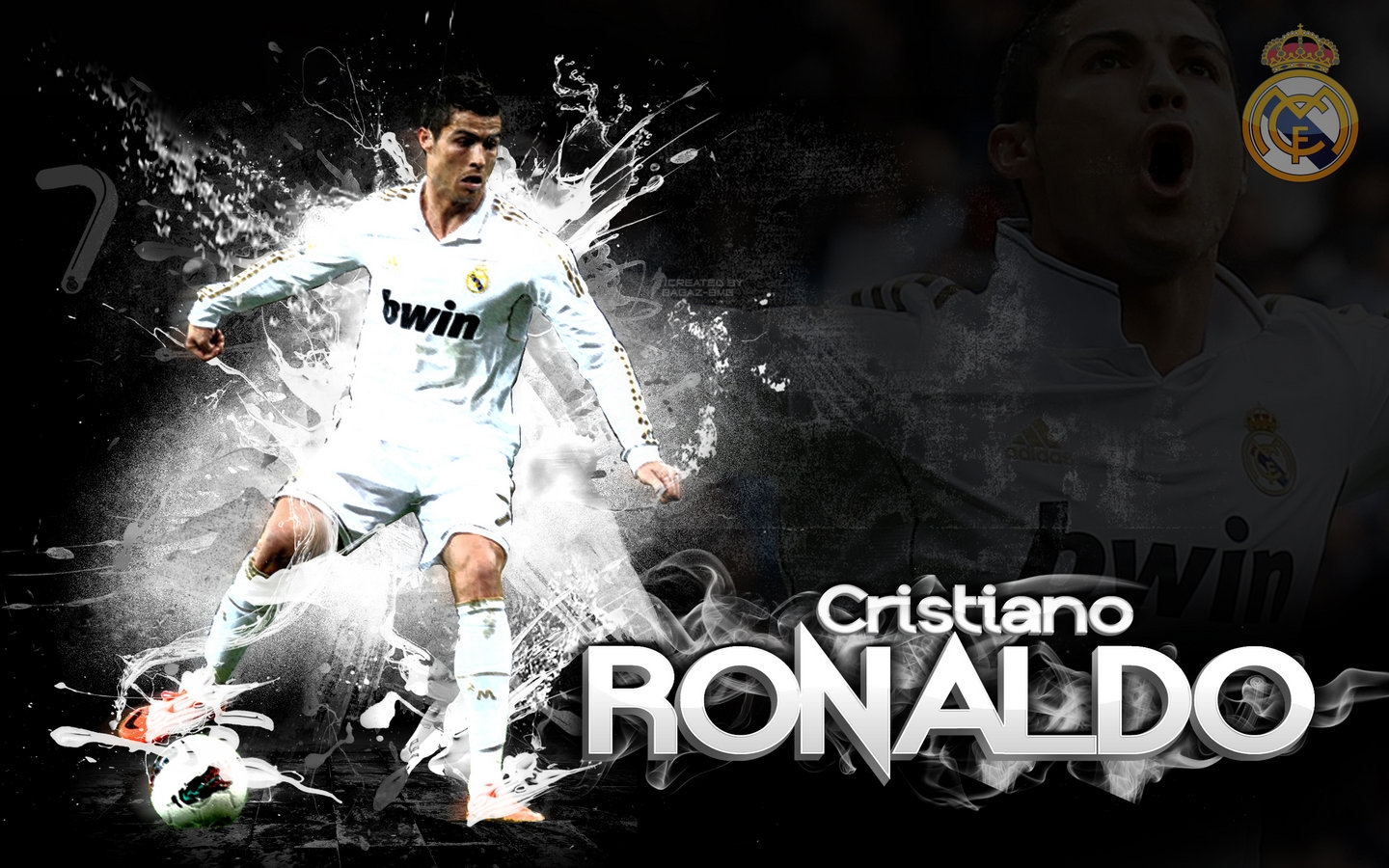 Cr7 Wallpaper Hd: Cr7 Real Madrid Hd Wallpaper