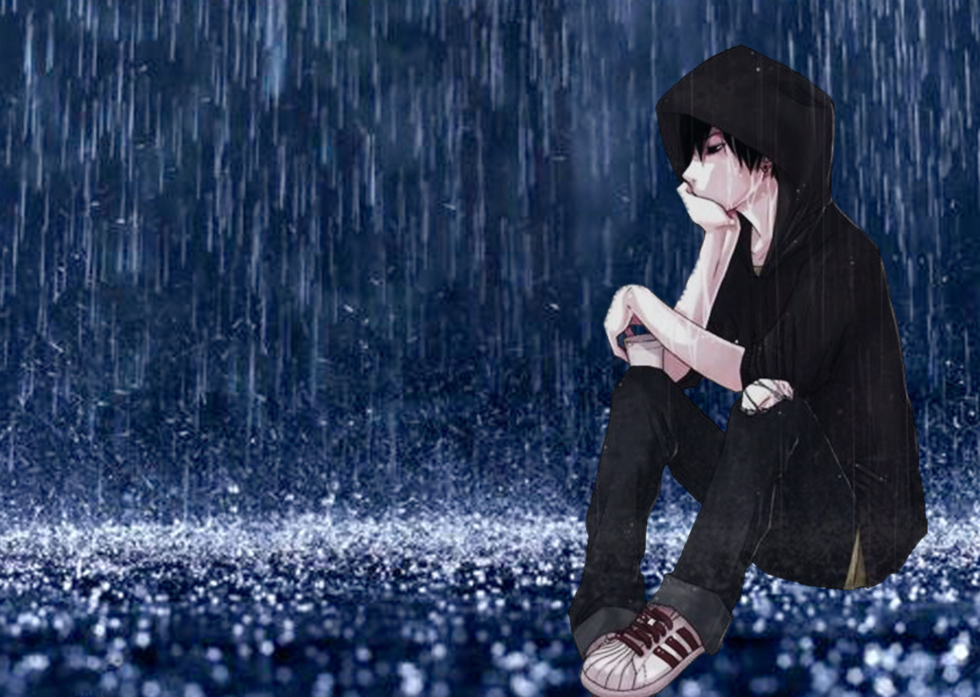 the gallery for gt anime boy crying blood