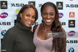 Sloane Stephens Mother Sybil Smith 300×200