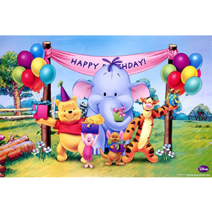 Winnie The Pooh And Friends Birthday 7