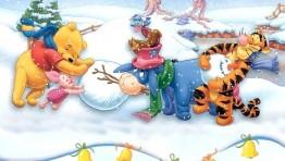 Winnie The Pooh Christmas Wallpaper 3