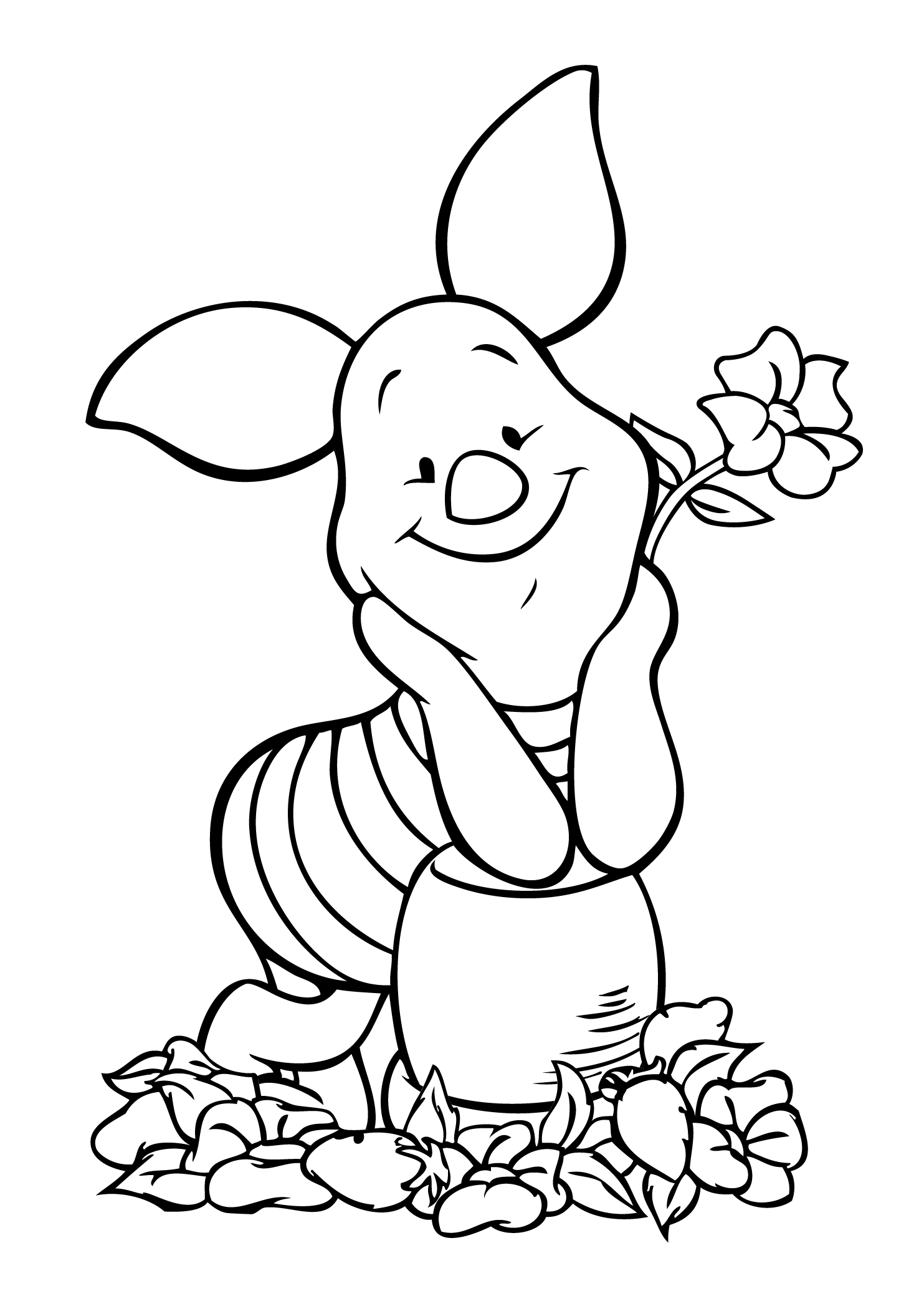 Blanket Hand Holding Coloring Pages