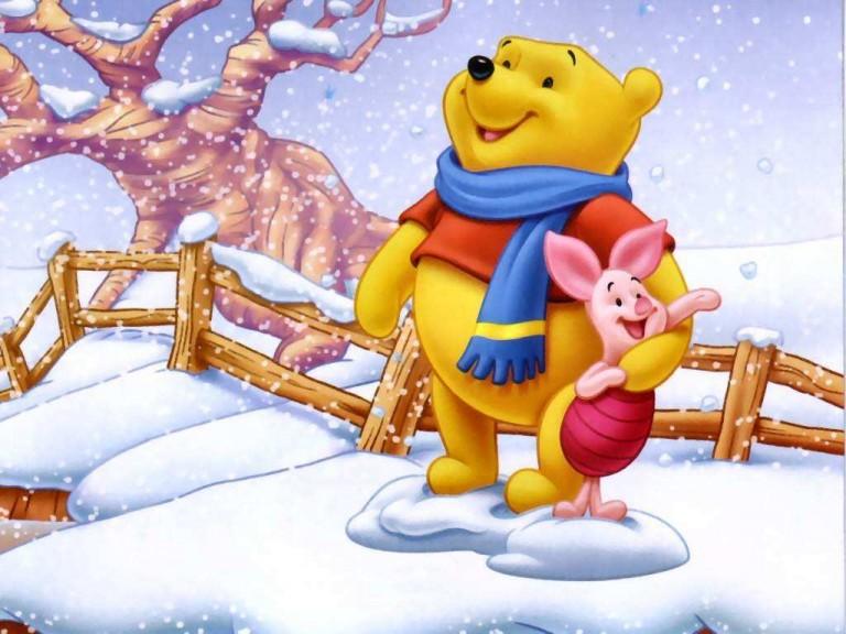 Winnie The Pooh Winter Wallpaper 4 768×576