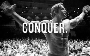Arnold Schwarzenegger Bodybuilding Conquer 1