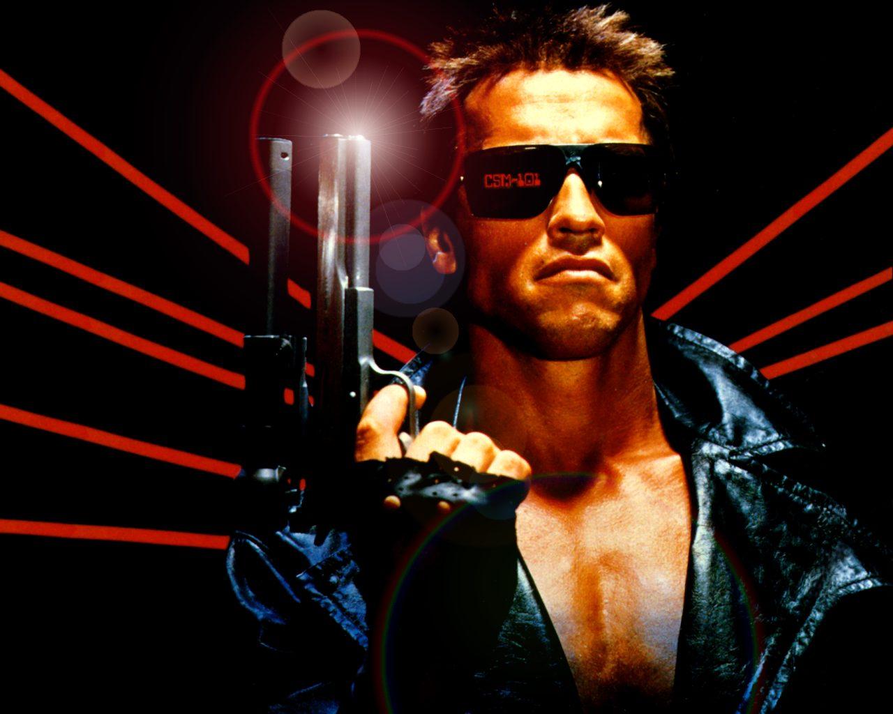 Arnold Schwarzenegger Terminator 2 Wallpaper 15