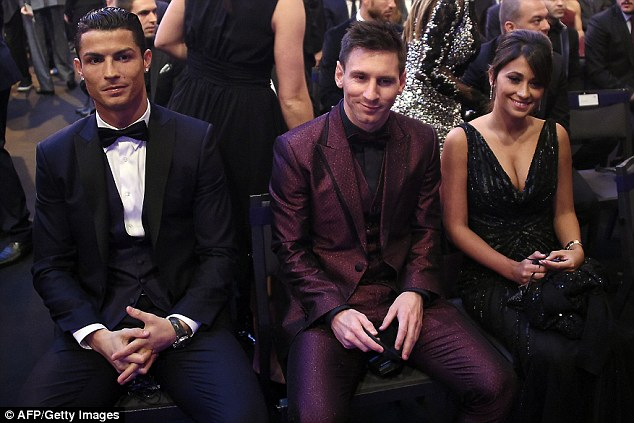 Cristiano Ronaldo And Irina Shayk Ballon Dor 4