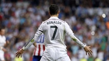 Cristiano Ronaldo Celebration Back 2