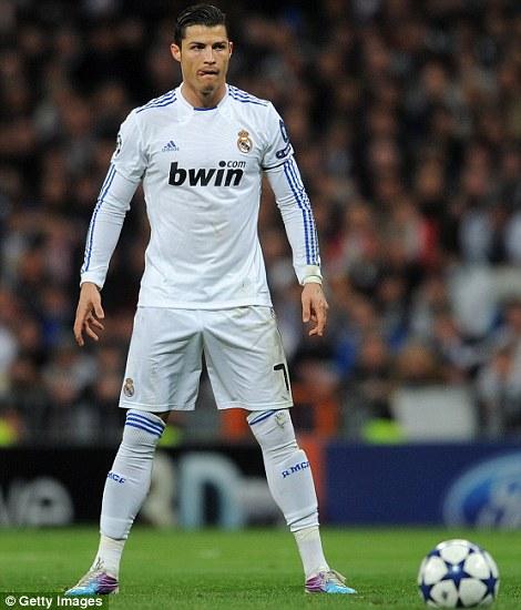 Cristiano Ronaldo Free Kick Pose Hd 2
