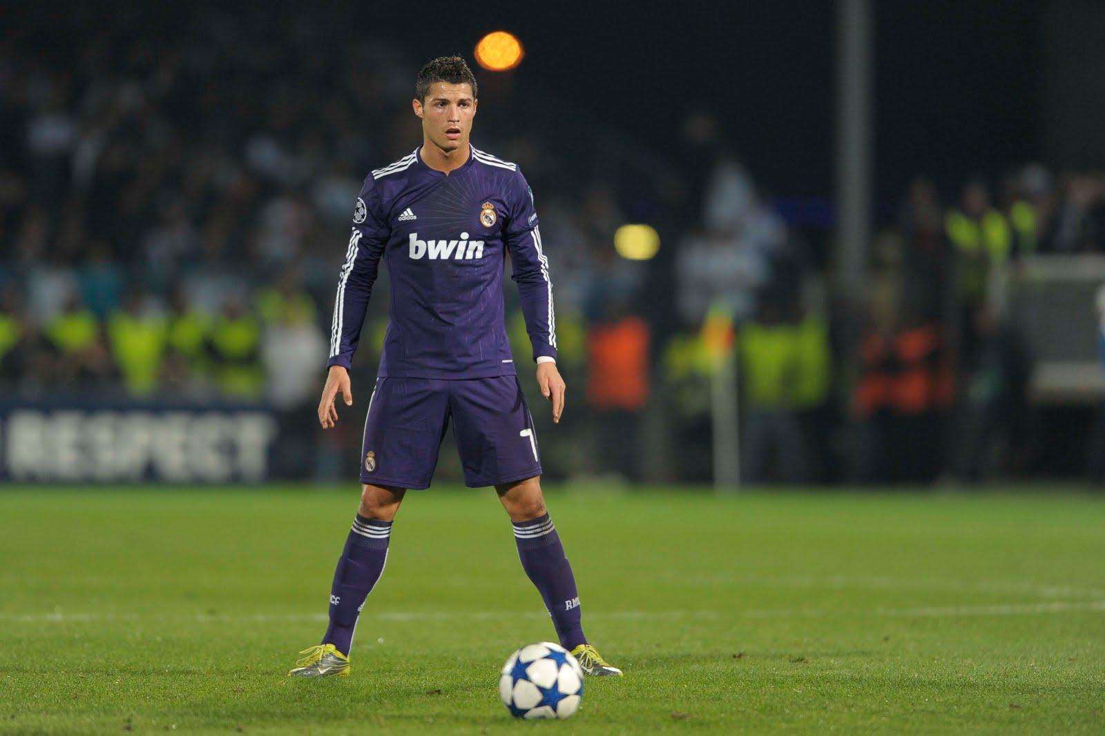Cristiano Ronaldo Free Kick Pose Hd 4