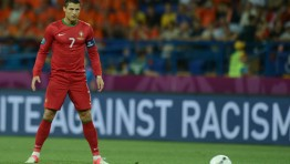 Cristiano Ronaldo Free Kick Stance