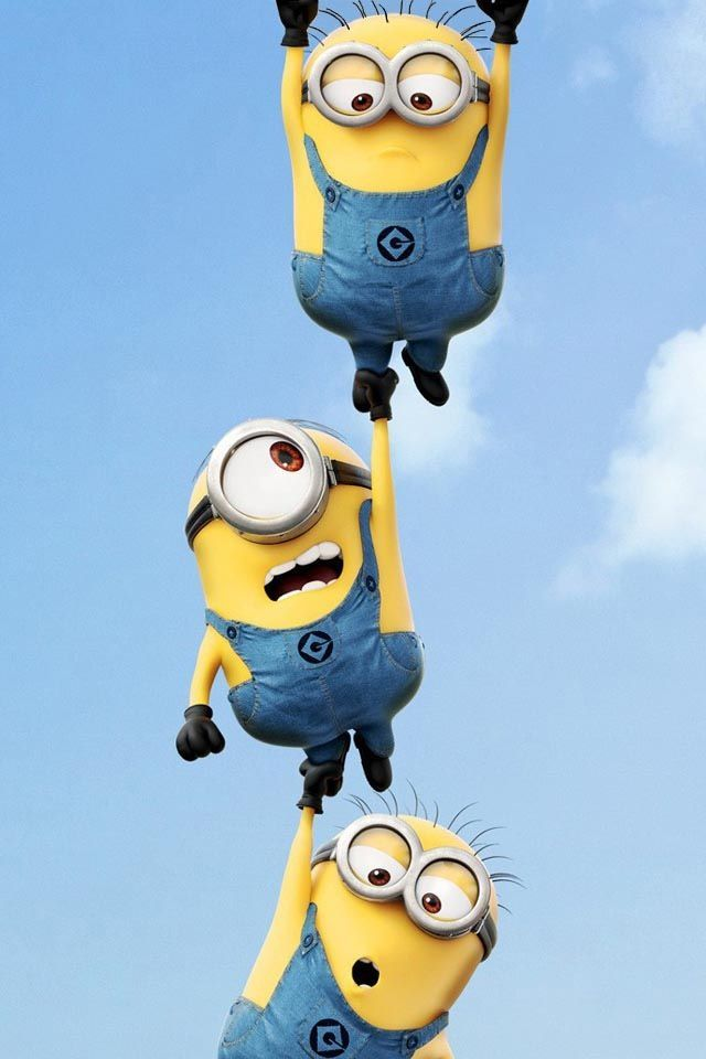 Cute Minions Wallpaper For IPad 2