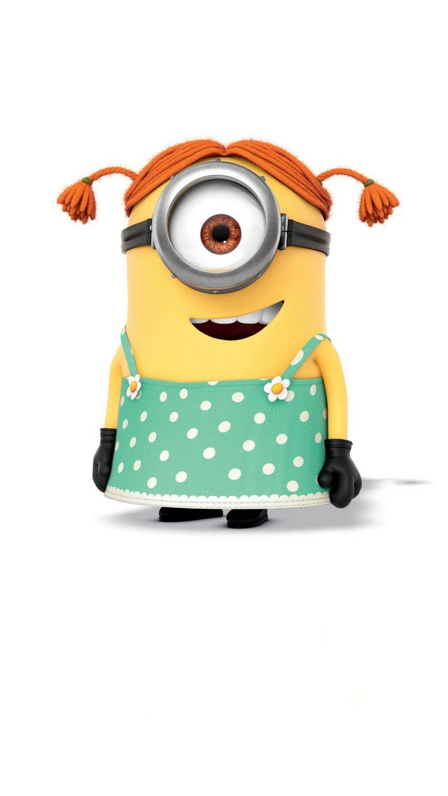 Cute Minions Wallpaper For IPad 5