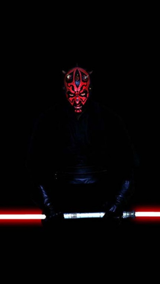 Darth Maul IPhone Wallpaper 4
