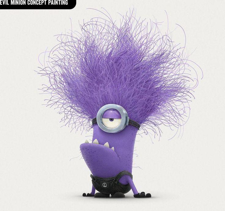 Despicable Me 2 Purple Minions Wallpaper 1