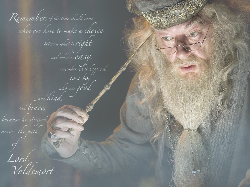 Dumbledore Quotes Wallpaper 7