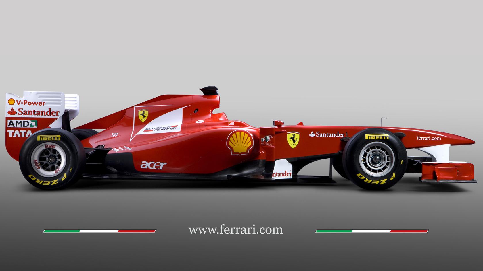 Formula 1 Cars Ferrari 16