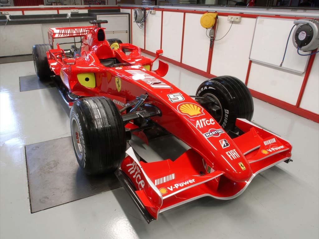 Formula 1 Cars Ferrari 81