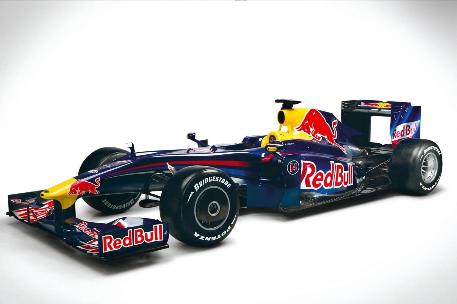 Formula 1 Cars Red Bull 9