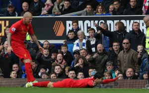 Luis Suarez Celebration Vs Everton 1 300×187