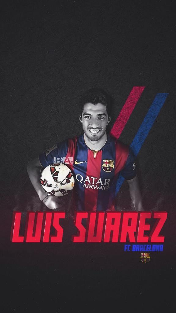 Luis Suarez IPhone Wallpaper 17