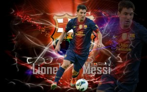 Messi And Neymar Wallpaper 2013 3 300×188
