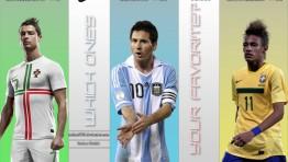 Messi Vs Ronaldo Vs Neymar Wallpaper 21 262×148