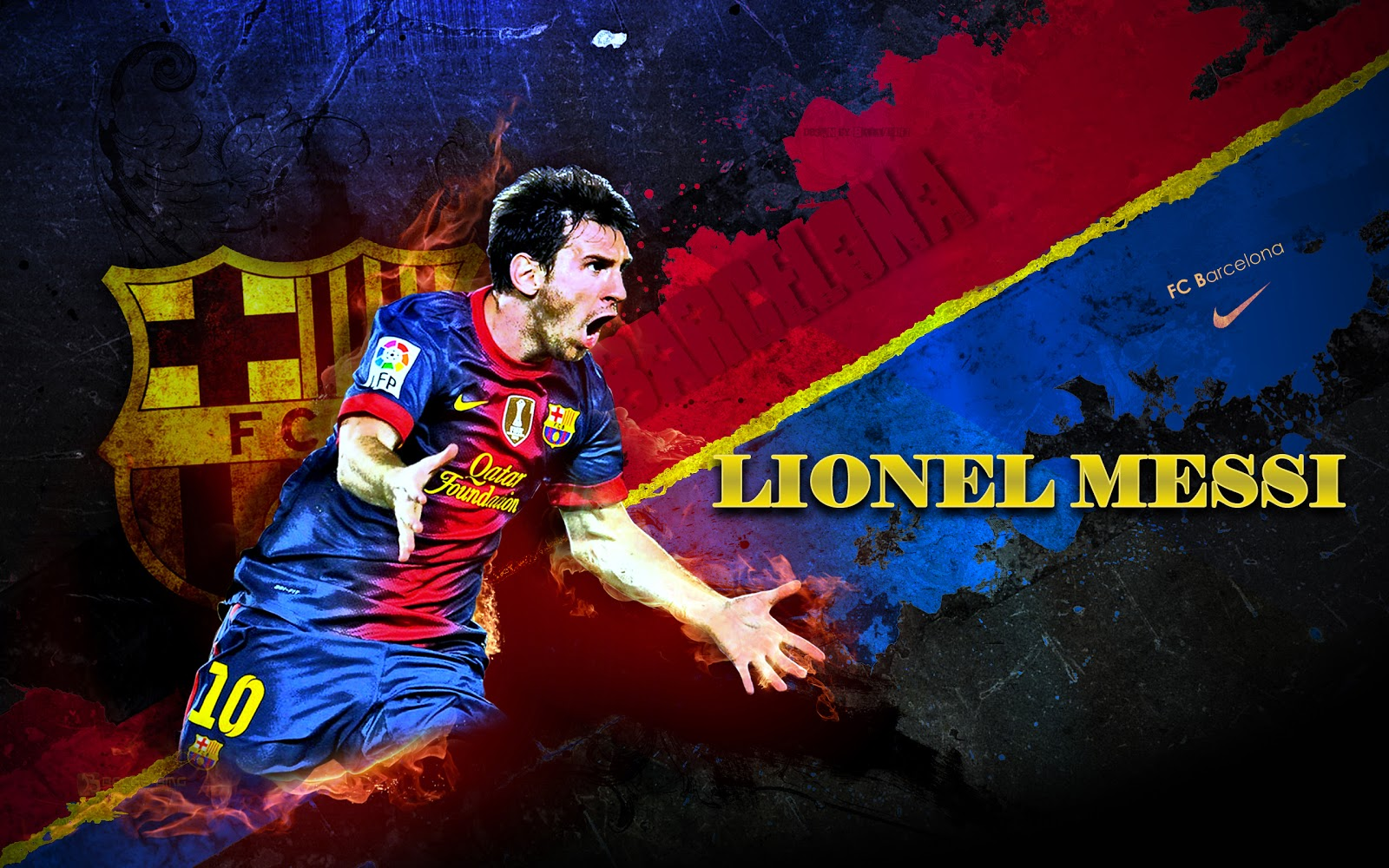 Messi Wallpaper 2014 3d 8