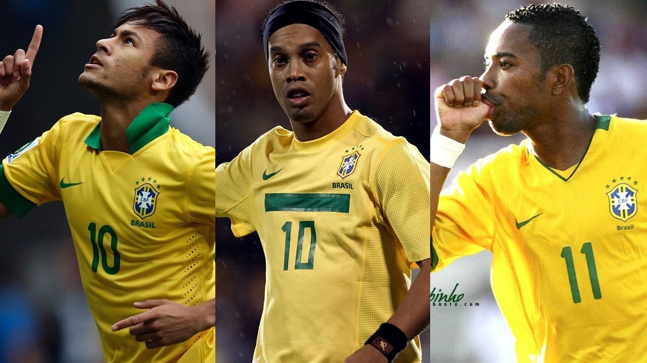 Neymar And Ronaldinho And Kaka 1