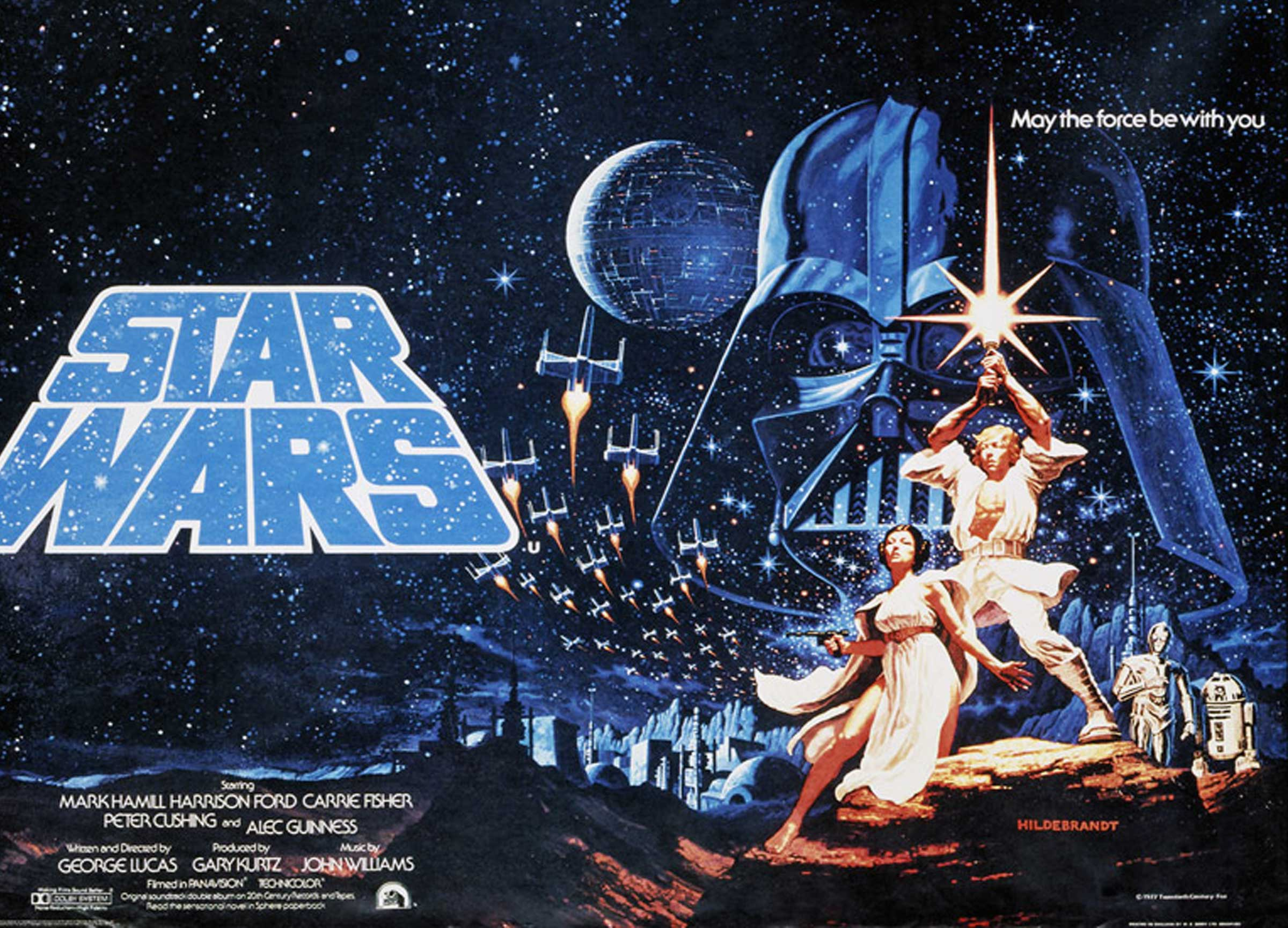 Star Wars Poster Original 1977 4
