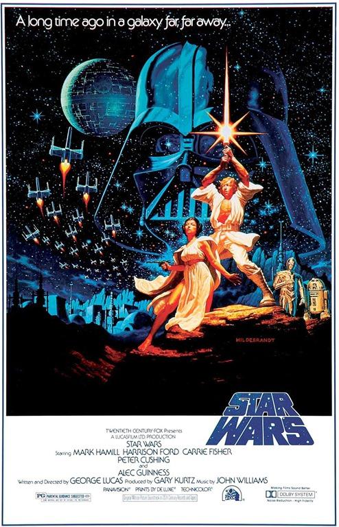 Star Wars Poster Original 1977 6