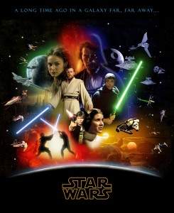 Star Wars Saga Poster 2 245×300