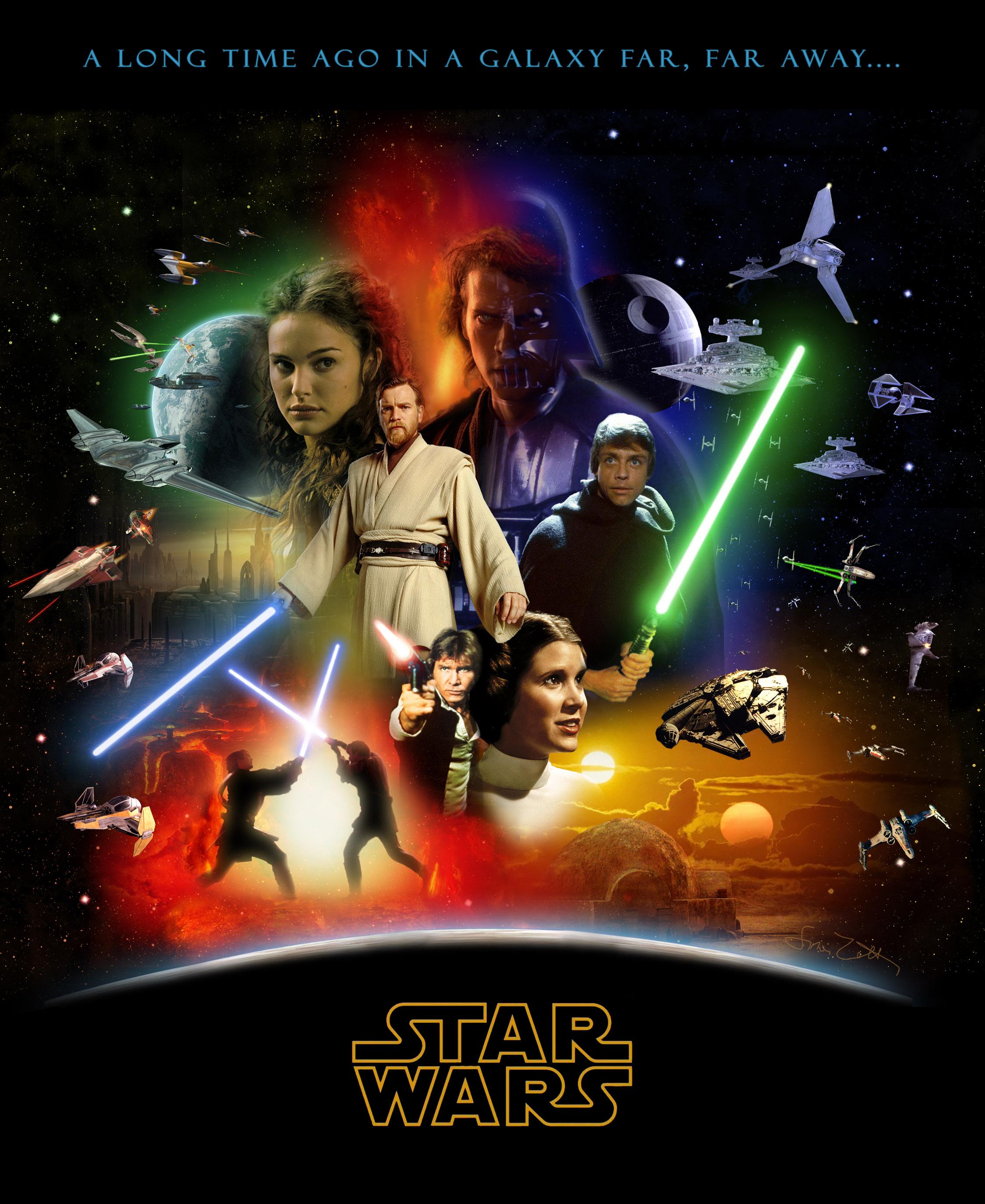 Star Wars Saga Poster 2