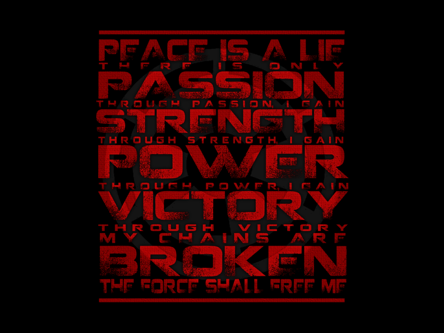 Star Wars Sith Code Wallpaper 1