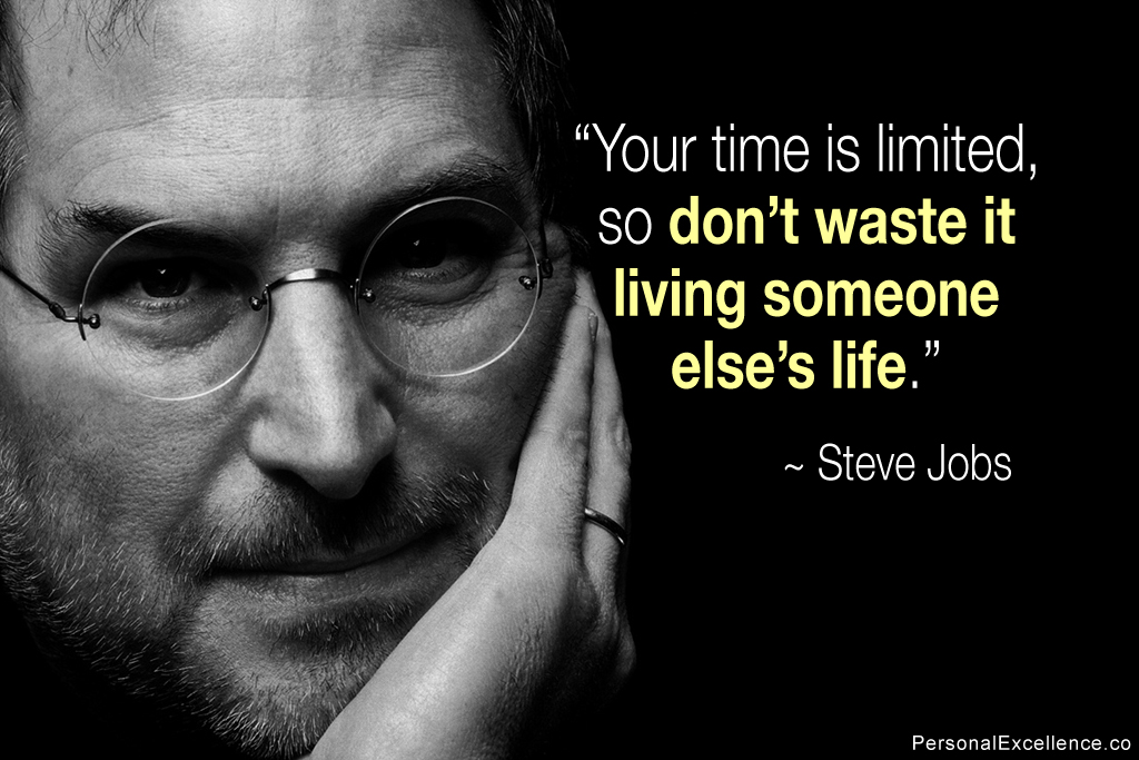 Steve Jobs Quotes Wallpaper Your Time Is Limited 1