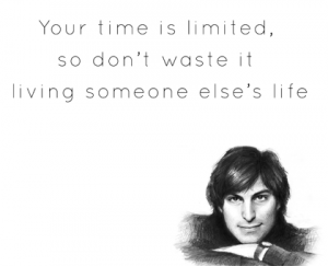 Steve Jobs Quotes Wallpaper Your Time Is Limited 2 300×243