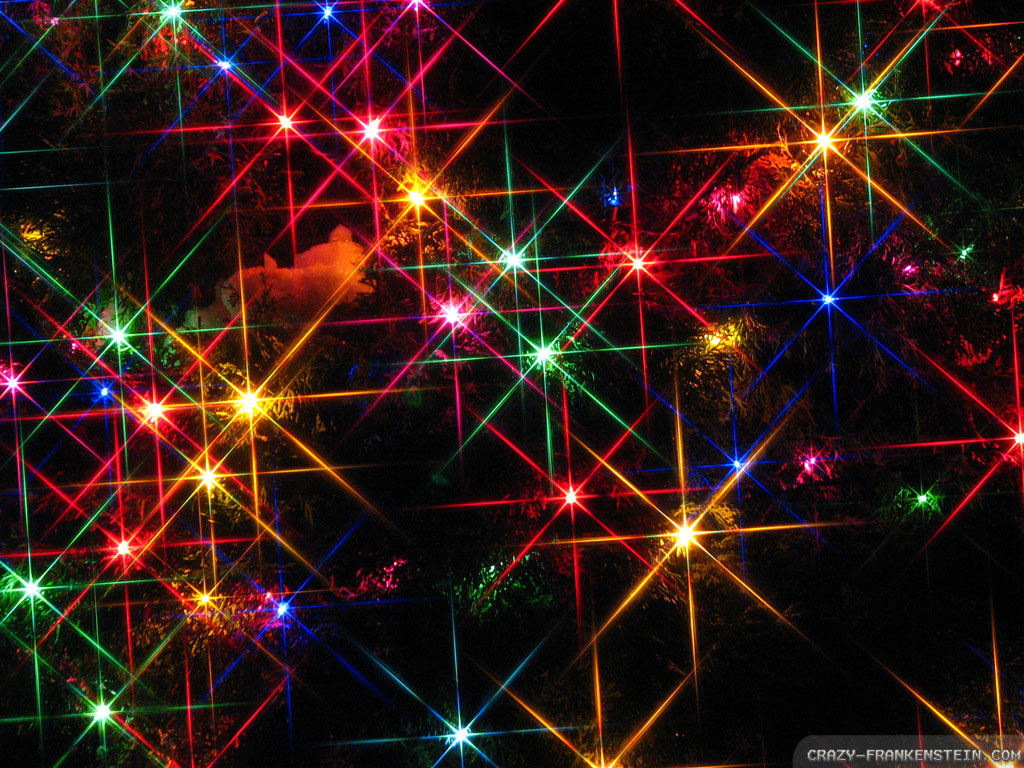 Animated Holiday Lights Wallpaper 2