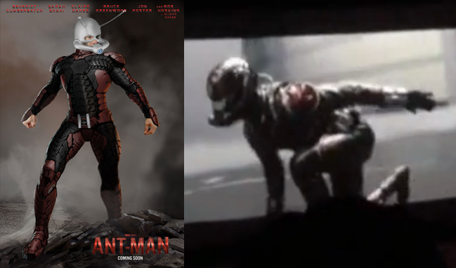 Ant Man Movie Test Footage 1