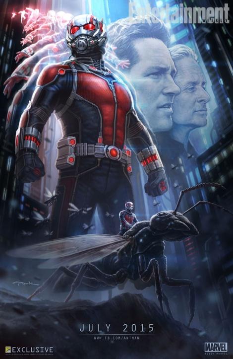 Ant Man Poster Comic Con 2