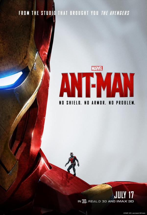 Ant Man Poster Official 1