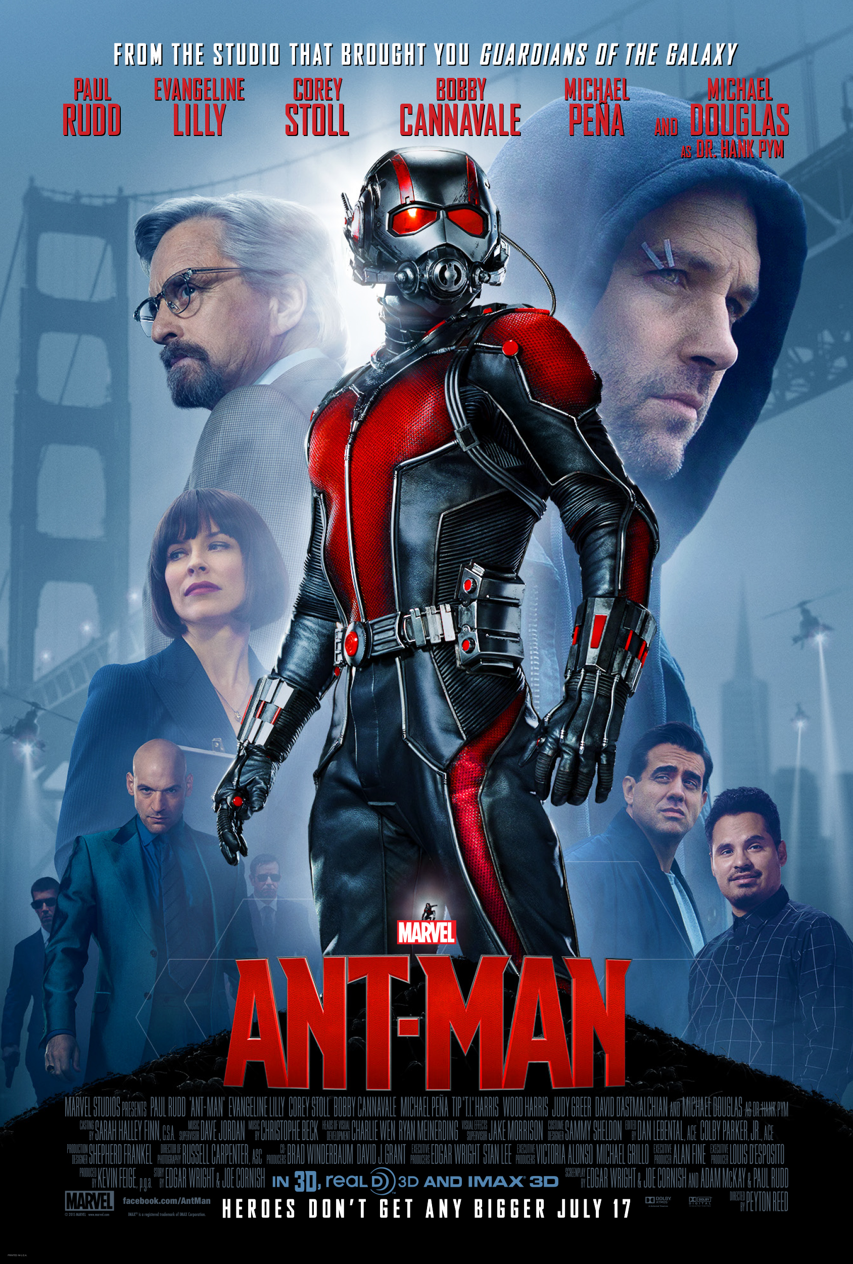 Ant Man Poster Official 9