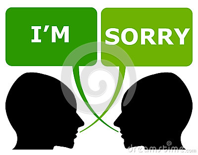 Apologizing Clipart 171