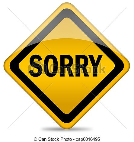 Apologizing Clipart 81