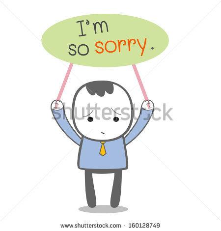Apology Clip Art 13
