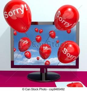 Apology Clip Art 17 287×300