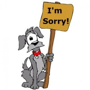 Apology Clip Art 19 300×300