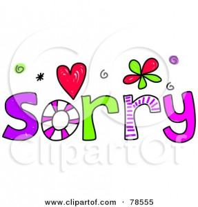 Apology Clip Art 20 287×300